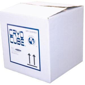 Disposable vapor shipper CryoCube